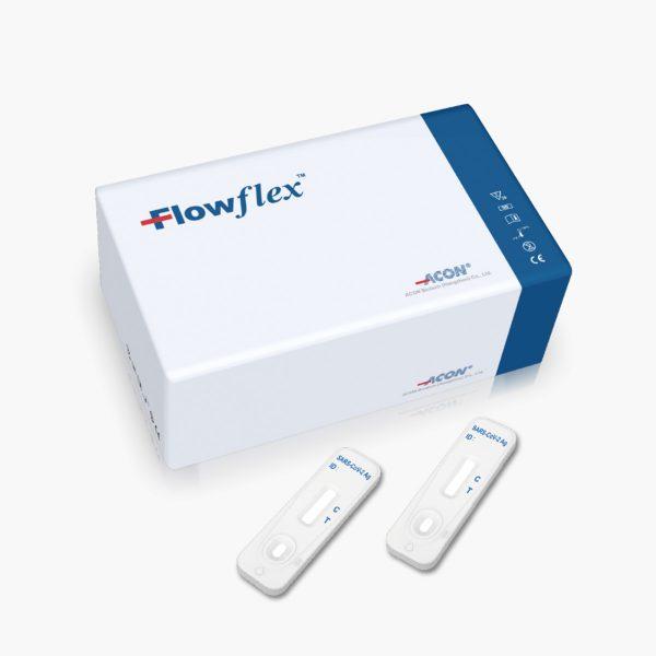 Self-testing Flowflex Antigeeni kiirtest - Proov ninasõõrmest (25 test/kit)