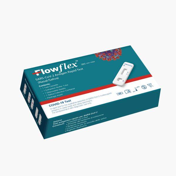 Flowflex Antigeeni kiirtest - Proov süljest ja ninasõõrmest (5 test/kit)